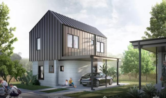 加拿大3D打印房屋