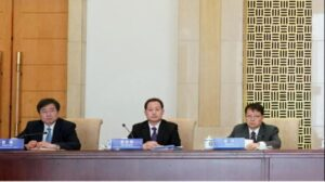 去年12月董经纬曾在北京出席会议