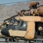 阿富汗军队直升机飞机