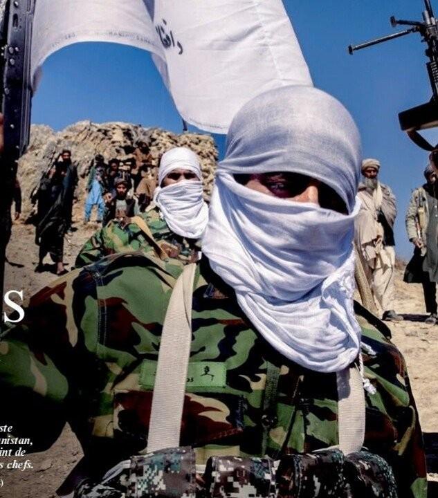 塔利班成员们身上所穿的军服是南韩军队的预备役队员所穿的旧款战斗服