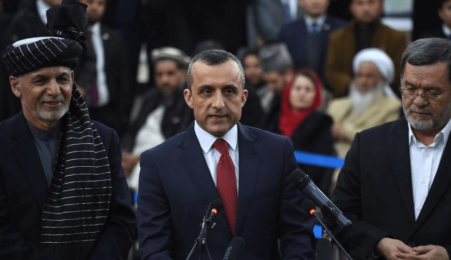 阿富汗第一副总统萨利赫即日起任阿富汗代总统,领导阿富汗人民反对塔利班