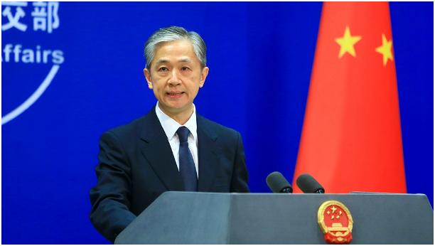 中国外交部新闻发言人汪文斌