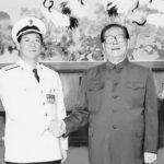 江泽民和海军司令吴胜利