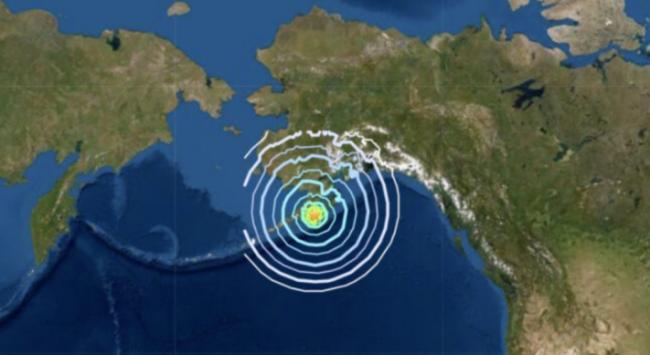 美阿拉斯加发生6.9级地震