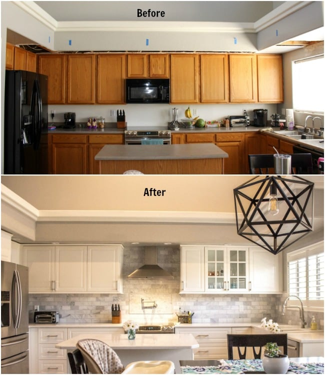 Amazing kitchen remodel with new Kitchen Plumbing