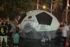 Custom Inflatable Bacardi Soccer Ball