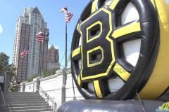 Custom Inflatable Bruins Puck
