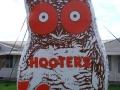 Custom Inflatable Hooters Logo Block