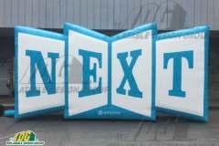 schoology next custom inflatable logo block
