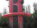 Custom Inflatable Rockets Logo