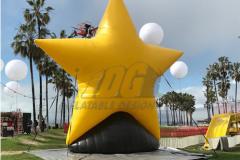 Custom Inflatable Star On Base