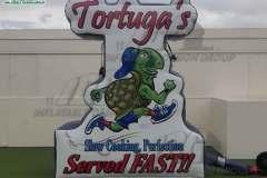 Tortuga's Custom Inflatable Logo Block for Advertising