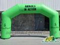 Custom Inflatable Calgary Archway