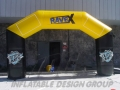 Custom Inflatable Rave X Archway
