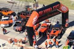 Inflatable Angular Arch Oklahoma State University