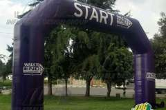 Inflatable Angular Arch for Start End Line