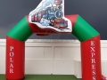 Custom Inflatable Polar Express Arch