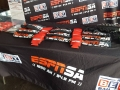 ESPN table cover for pop up tent