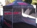 National Guard Vendor tent