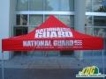 Red National Guard Vendor Tent