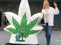 Custom Inflatable Cartoon leaf