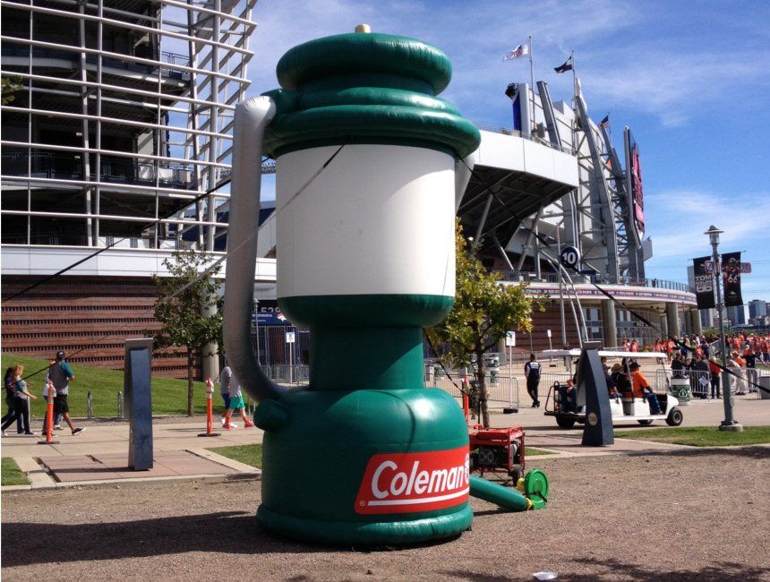 custom advertising inflatables