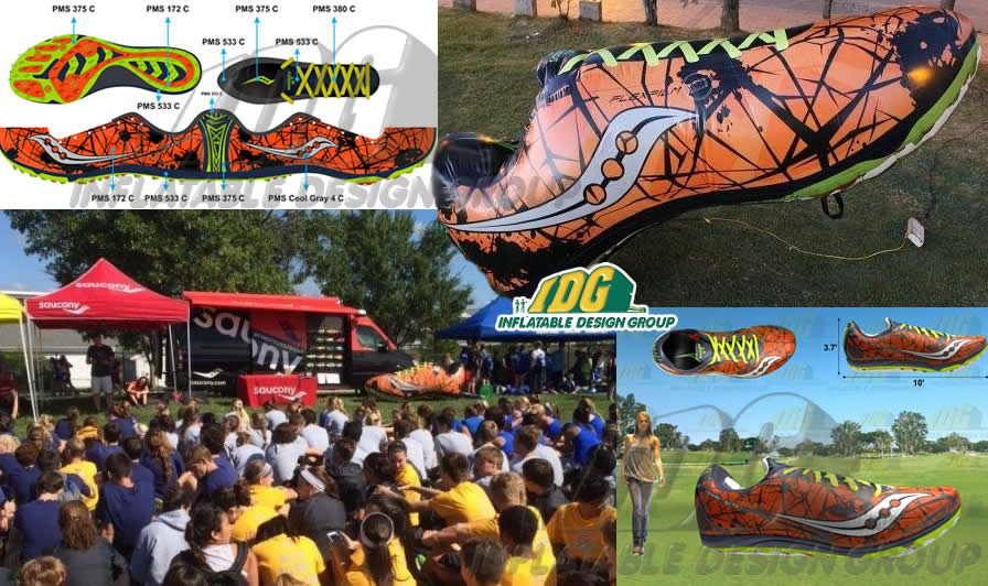 3-D Inflatable Marketing Activations- Inflatable Shoe
