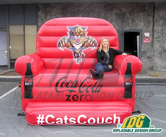 Gigantic Inflatable Couches from Inflatable Design Group