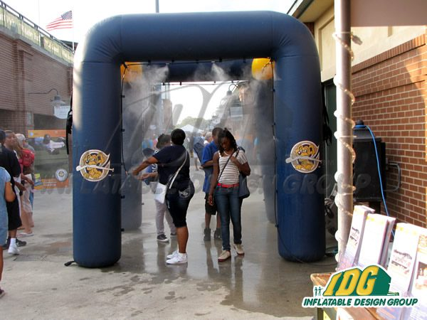 Stay Cool with an Inflatable Misting Station from IDG! 1
