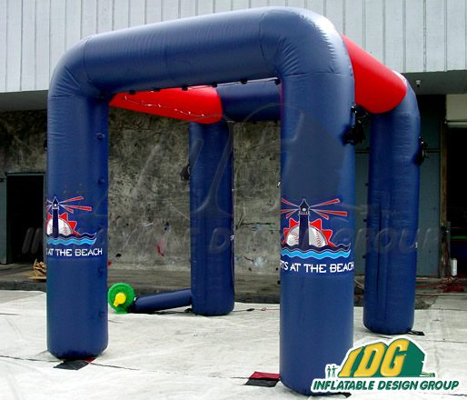 Stay Cool with an Inflatable Misting Station from IDG!
