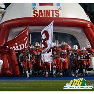 Santa Ana HS Football Helmet (1)