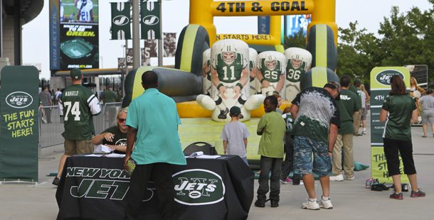 Get your GAME on with our INFLATABLE 4th n Goal 4