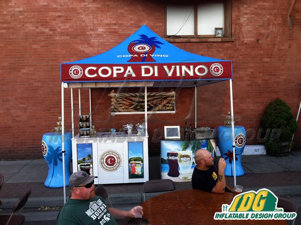 Beat the heat with POPUP Vendor Tents this summer!