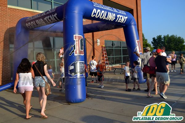 Beat the 'Dog Days' of Summer with Custom Interactive Inflatables 4
