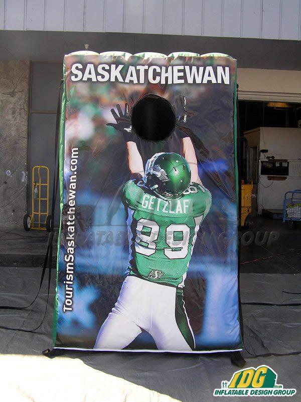 Saskatchewan Mini QB Toss