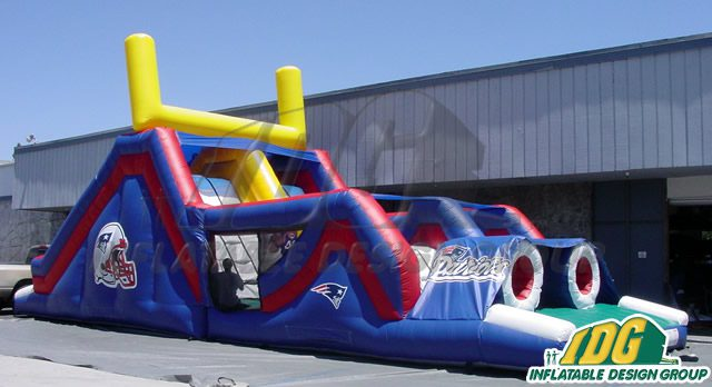 Custom Inflatable Obstacle Courses from Inflatable Design Group 1