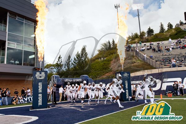 Kickoff to the Football Season with Inflatable Entrance Tunnels! 2