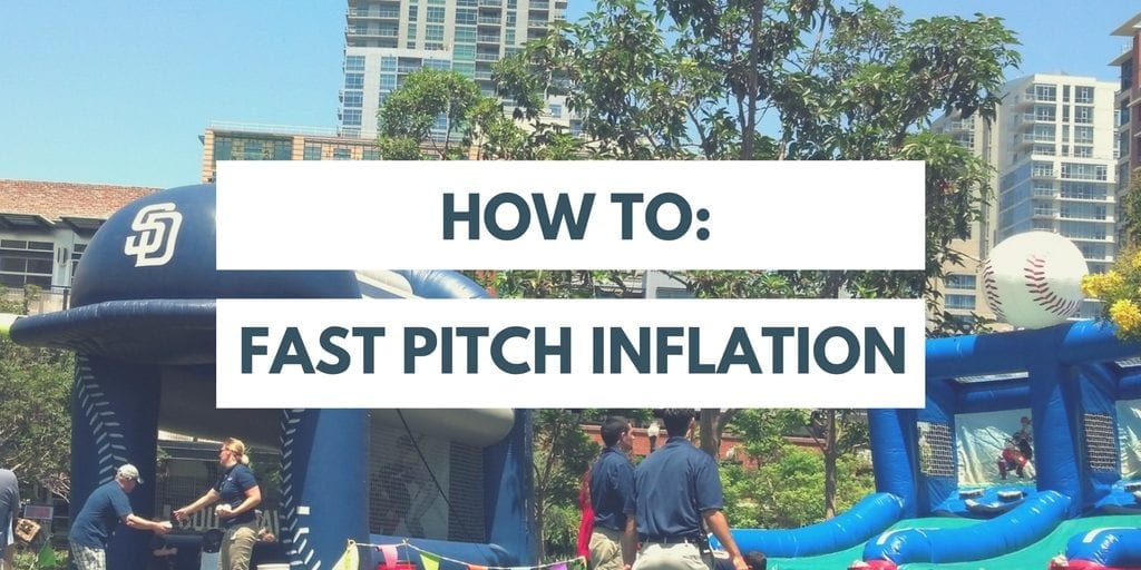 IDG's How to Inflatable Sports Games: Fast Pitch