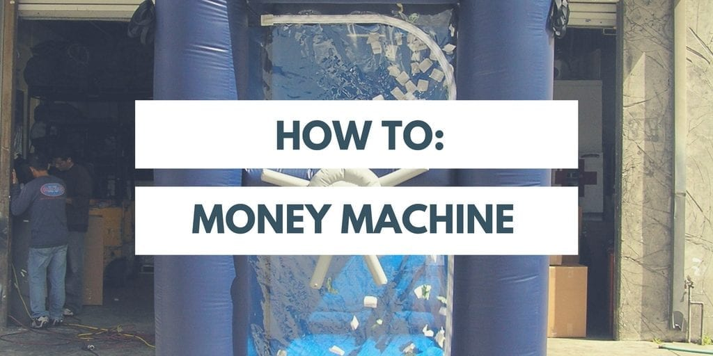IDG's HOW TO: Inflatable Money Machines Set Up and Take Down