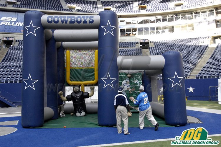 This Season's Outdoor Inflatables for Football: Dual Kick 2