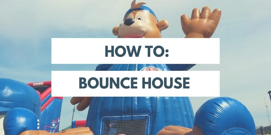 IDG's How to: Inflatable Bounce House Set up and Take Down