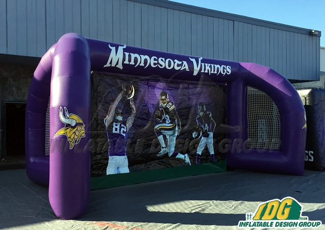 Journey to the Pros with an Inflatable Football Game 3