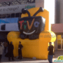 Television inflatables from Inflatable Design Group 1