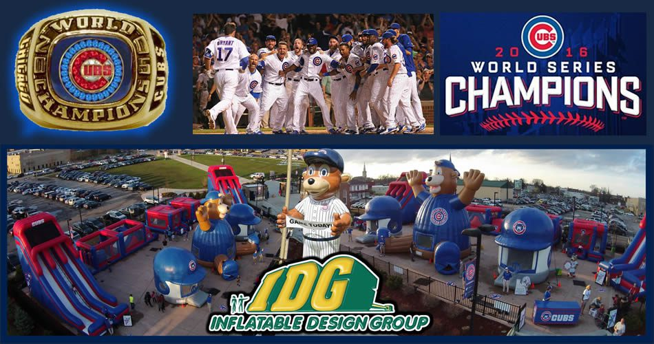 Inflatable Games Chicago Cubs