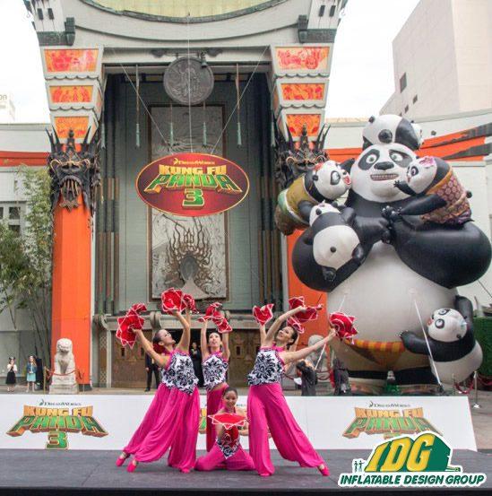 Inflatable Kung FU Panda