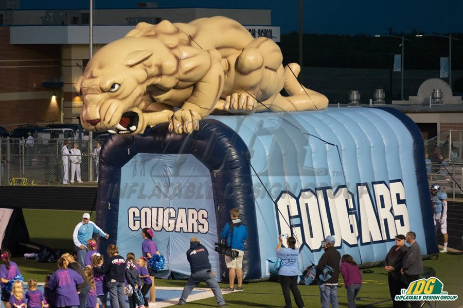 Booster Club fundraising in action with Inflatable Design Group