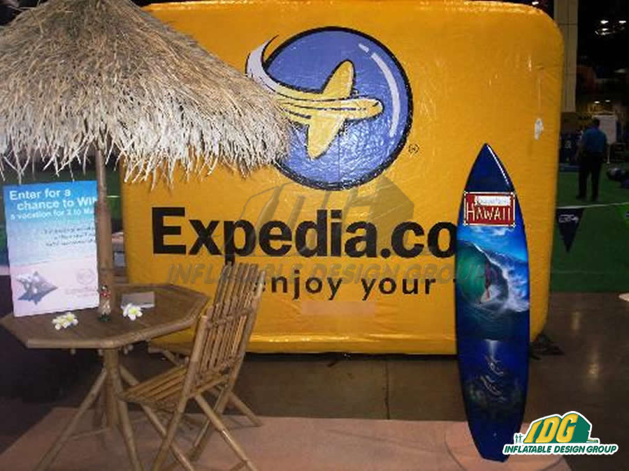 Go Big or Go Home! IDG goes BIG with our promotional inflatables! 4