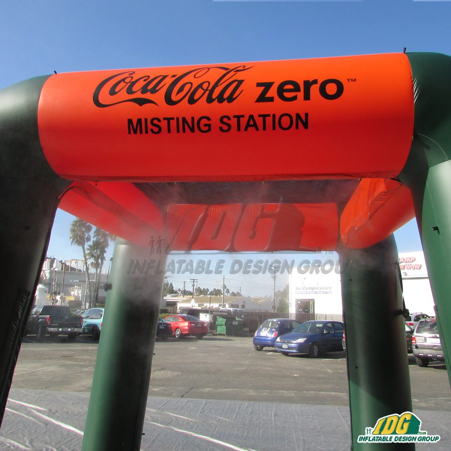 Inflatable Misting Station
