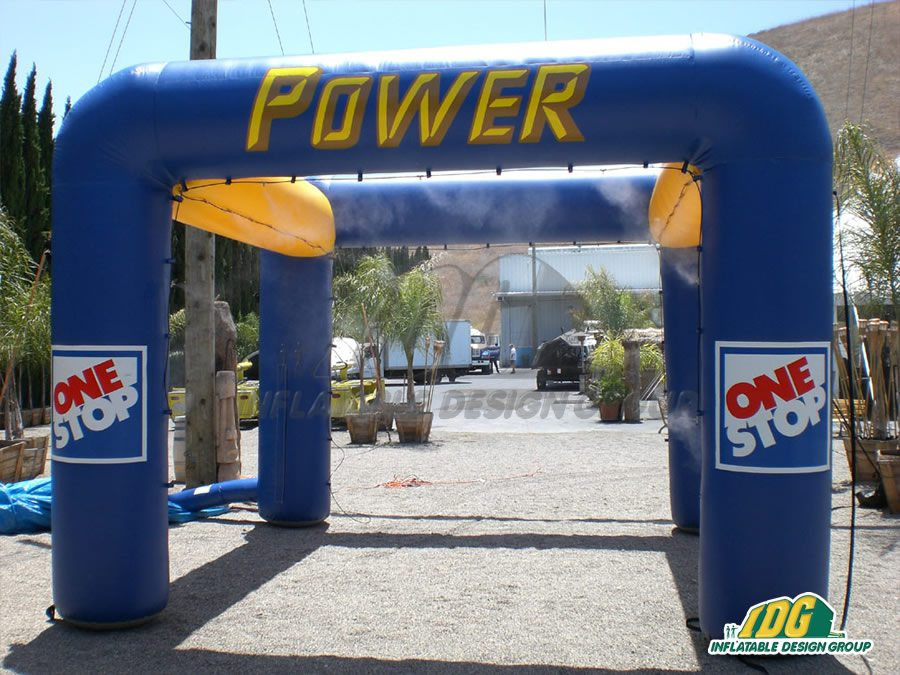 Stay Cool this summer with Inflatable Misting Stations