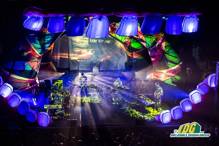 Festival Frenzy for Custom Inflatable Stages